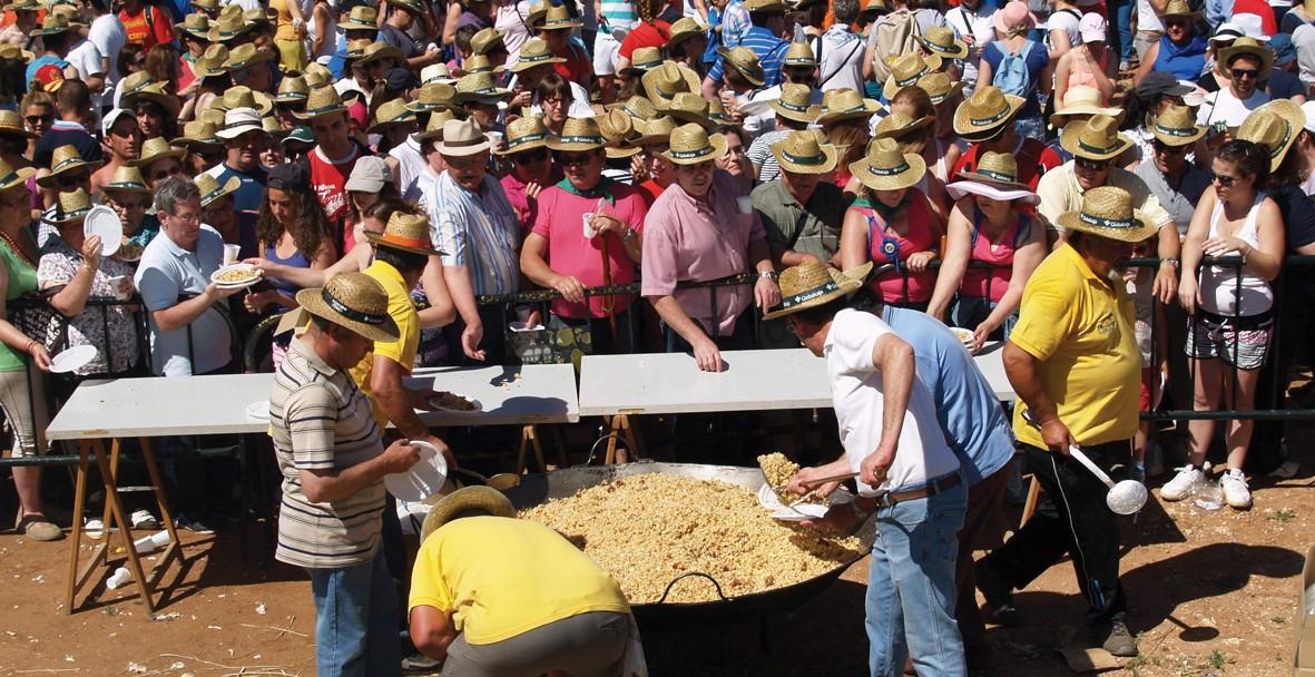 La romería de Alarcos movilizó a más de 16.000 personas durante el domingo y el lunes