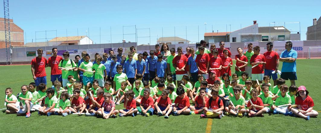 Gran éxito del I Campus de Fútbol de Carrión