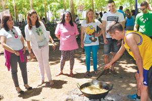 Fiestas en el barrio de los Rosales de Ciudad Real