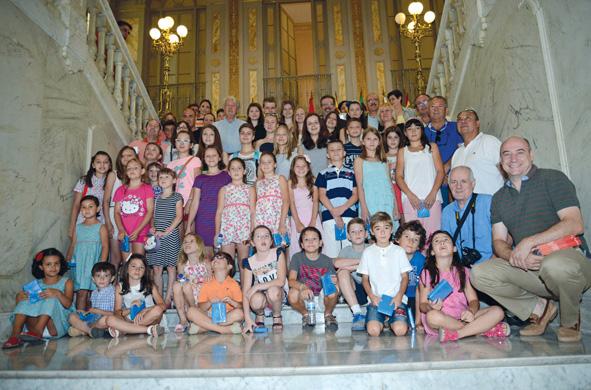 Generosa acogida de niños ucranianos en Ciudad Real