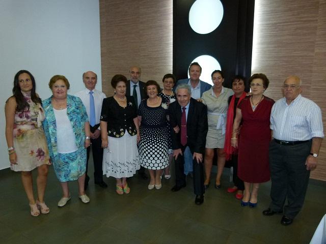 Ferrer con alcalde y Consejo Mayores