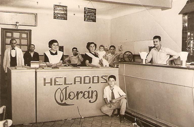 Helados Morán: Igual que  hace 90 años