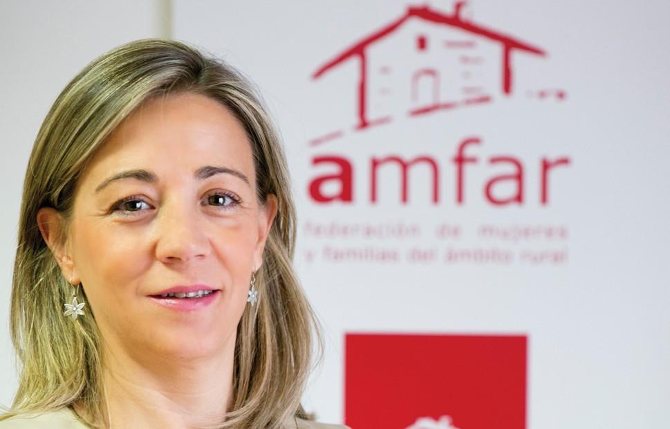 Lola Merino Chacón. Presidenta Nacional de AMFAR y concejal del Ayuntamiento de Ciudad Real