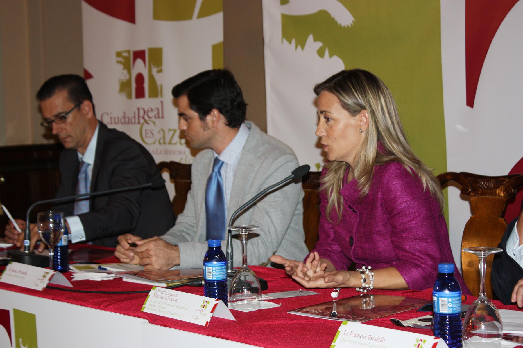 """Lola Merino: """"el congreso servirá para poner en valor el potencial turístico y económico que tiene la caza"""""""