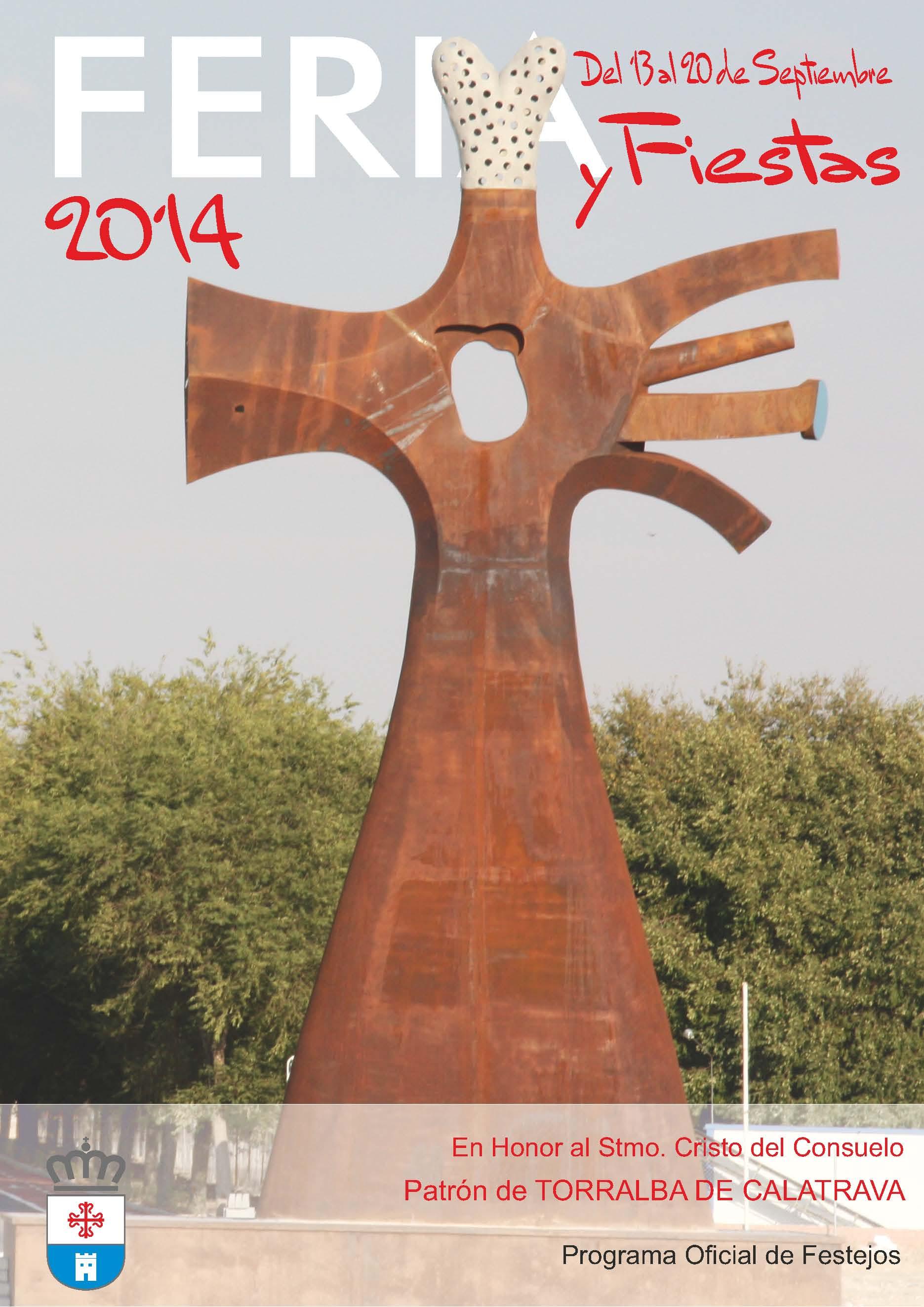Torralba Cartel Fiestas programa 2014