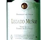 Vino recomendado del mes de septiembre 2014: Legado MUÑOZ, Cabernet Sauvignon