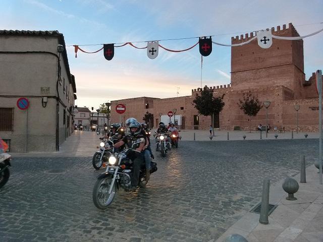Emilio Zamora y Pedro Moreno, protagonistas de la VII Concentración del Moto Club Ruta 2308 de Manzanares