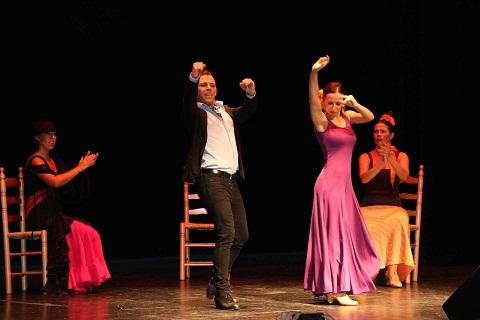 Lleno en el XV Festival de Arte Español y Flamenco en Miguelturra