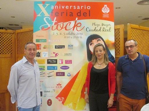 La Plaza Mayor de Ciudad Real se convertirá en una macrotienda con la X Feria del Stock