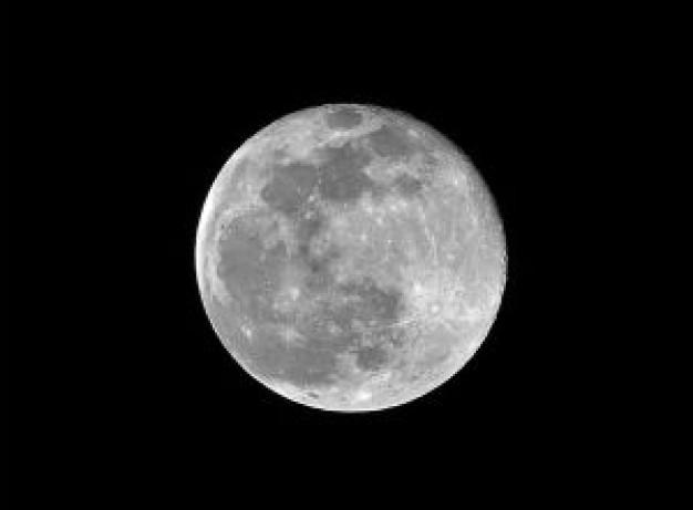 Los numerosos cráteres de la Luna