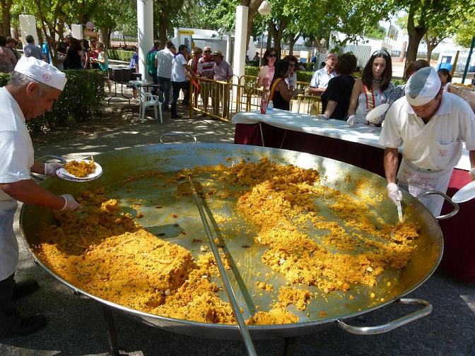 paella Manzanares 2014