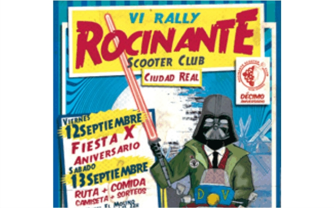 VI Rally Scooterista de Ciudad Real