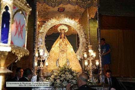La Procesión de la Octava y la Traca Final despidieron las Fiestas en honor a la Virgen de la Estrella de Miguelturra
