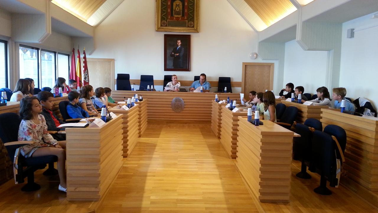 Primer pleno escolar municipal del curso en Ciudad Real
