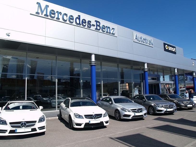 Autotrak Mercedes Benz está presentando durante estos días las jornadas de pruebas DreamCars