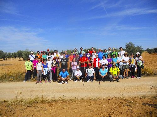 Cruz Roja realizó otra ruta de senderismo por el camino del Chaparral de La Solana
