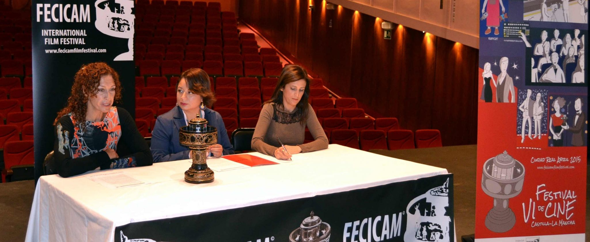 La 6ª edición del Festival de Cine de Castilla-La Mancha, FECICAM se celebrará los días 23, 24 y 25 de abril