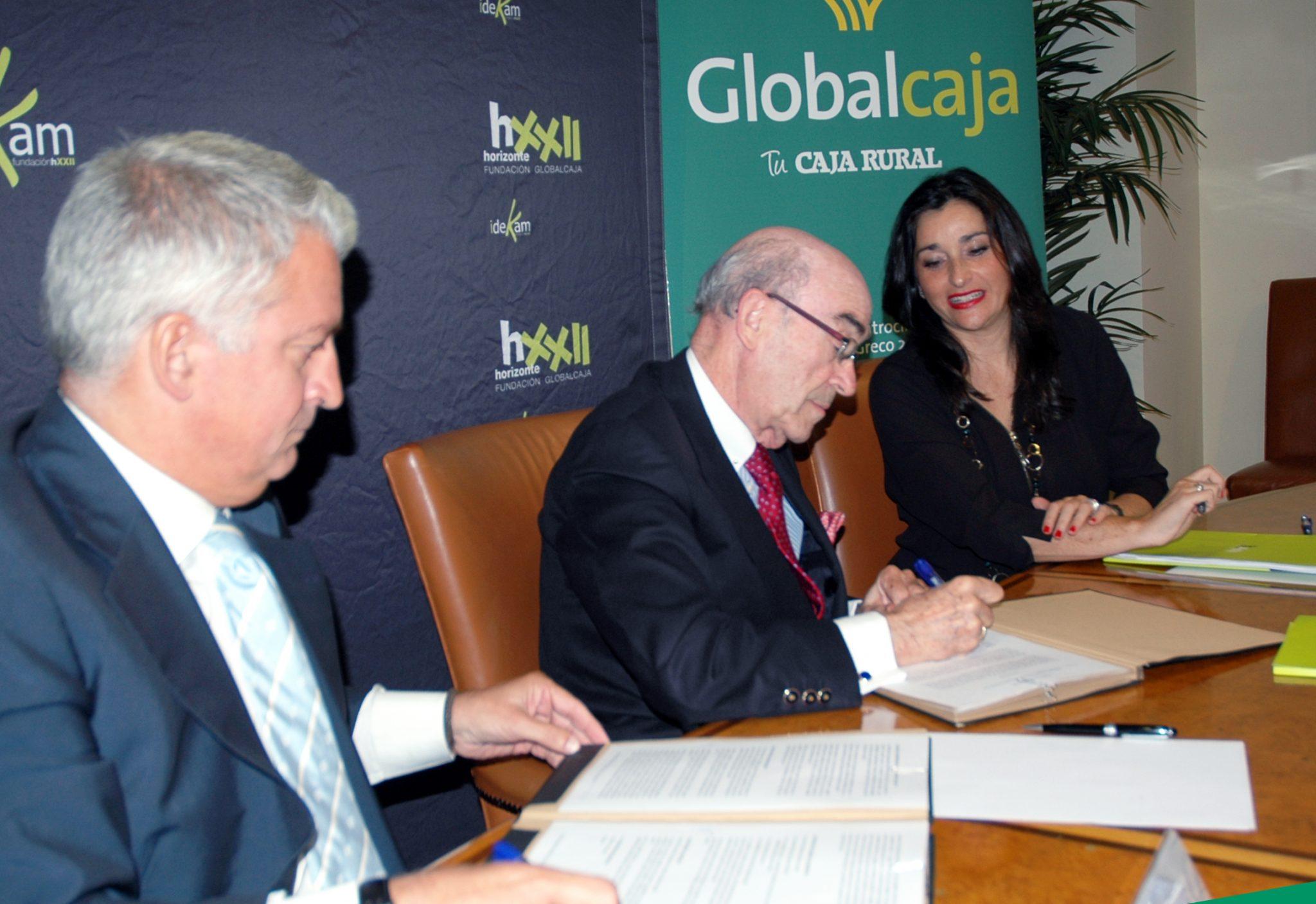 Firma convenio San Telmo-Fundación Horizonte XXII