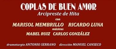«Coplas de buen amor» en el Teatro Cine Paz de Miguelturra este viernes 24 de octubre