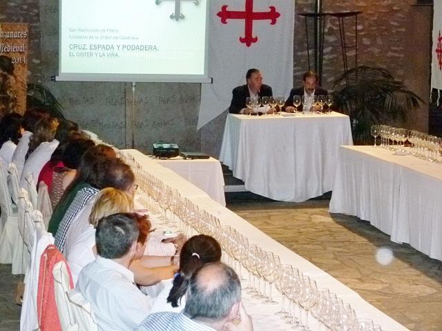 cata de vino en Manzanares