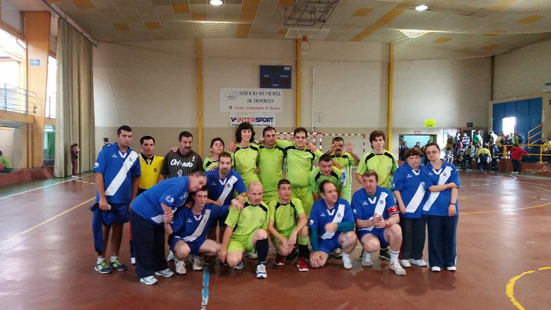 El Centro Ocupacional de Manzanares participa en Herencia en el encuentro deportivo de Laborvalía