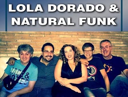 Lola Dorado and Natural Funk 3.0 en concierto este viernes 31 de octubre en Miguelturra