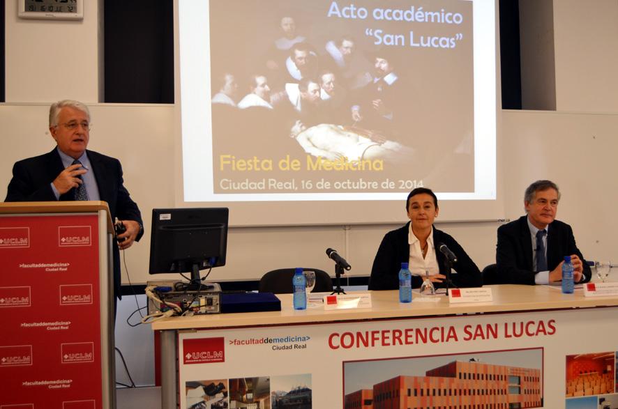 La Facultad de Medicina de Ciudad Real celebra la festividad de su patrón, San Lucas