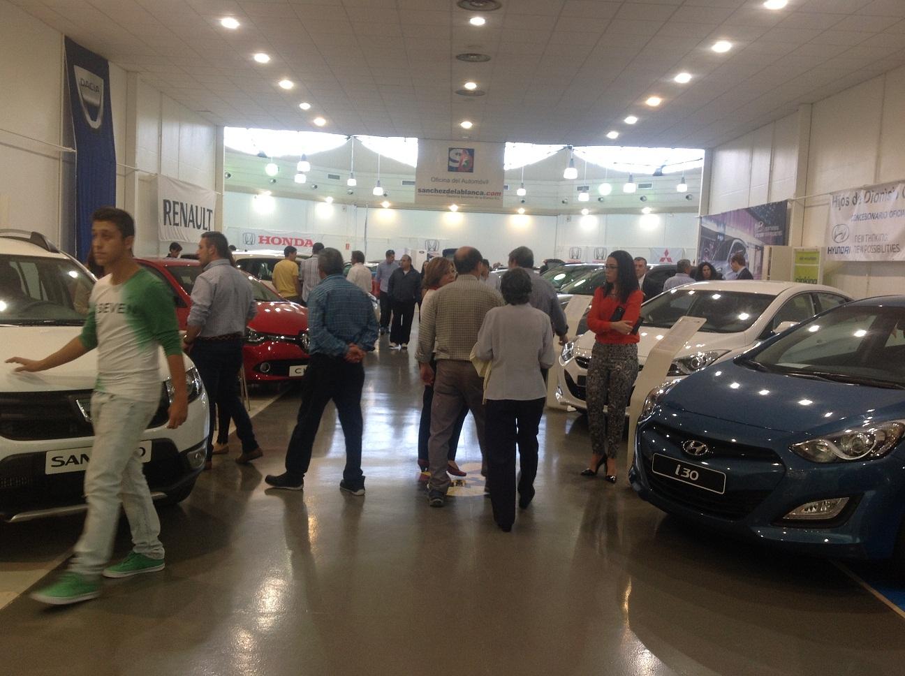 Satisfacción generalizada tras el IV Salón del Automóvil de Manzanares