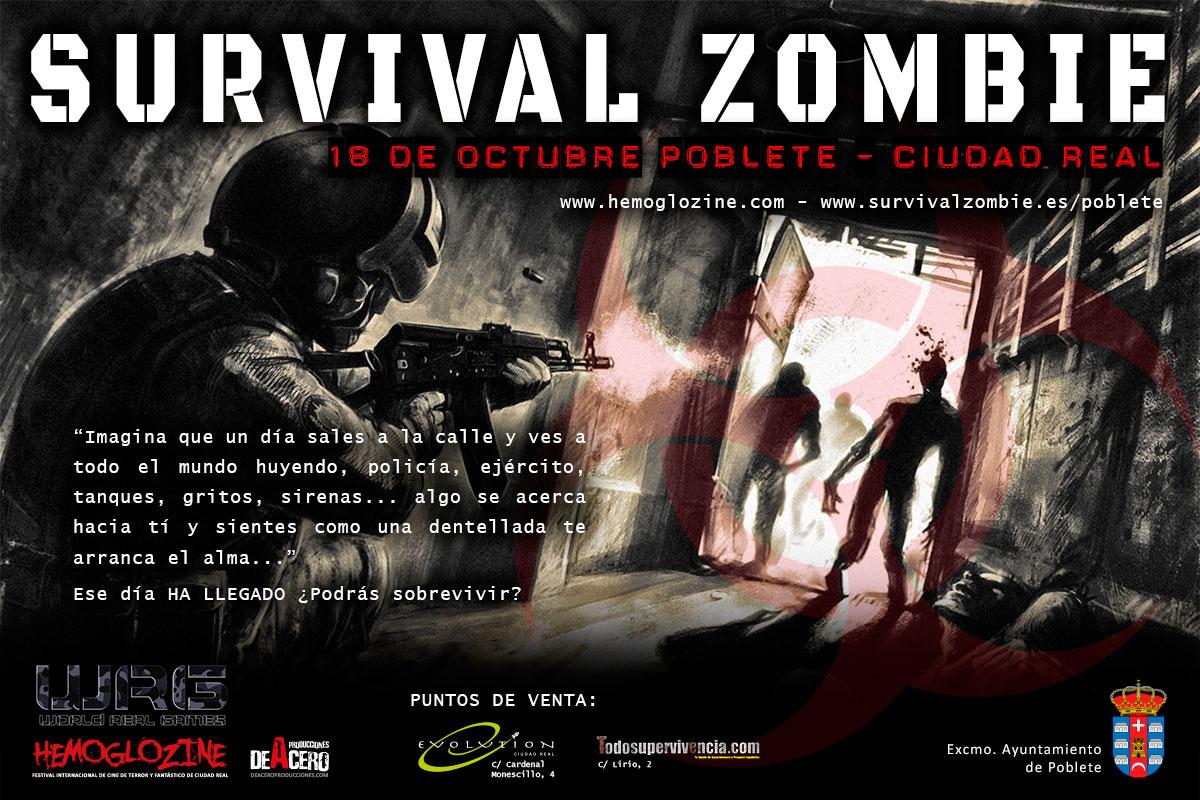 La 11ª edición de Survival Zombie en Poblete marca el inicio del Festival HEMOGLOZINE 2014