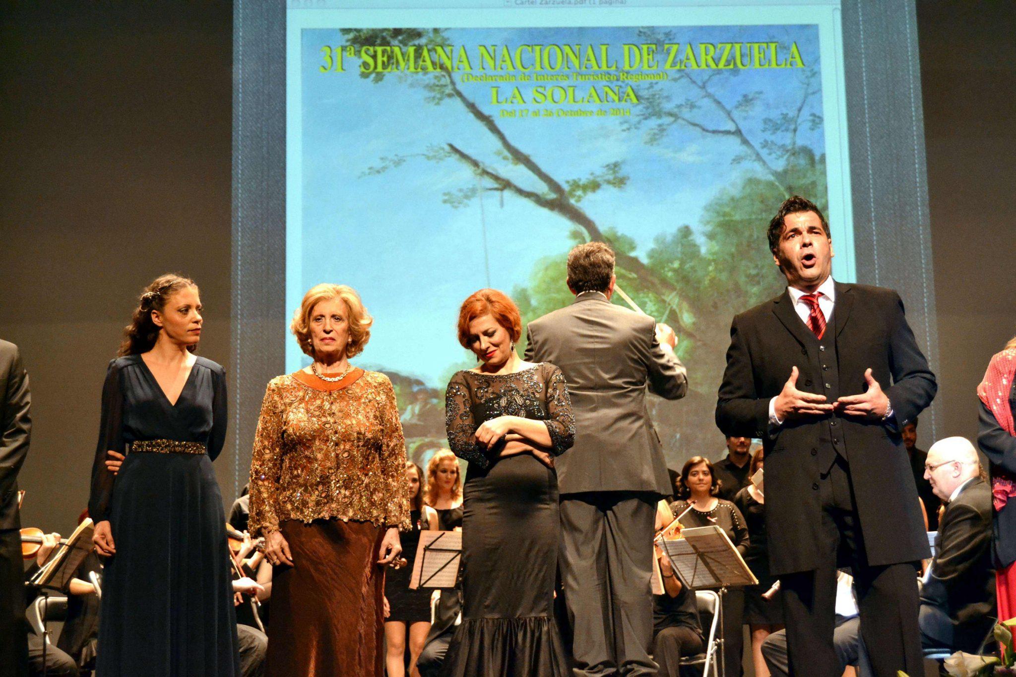 zarzuela La Solana 2 gala lirica canta Antonio Torres