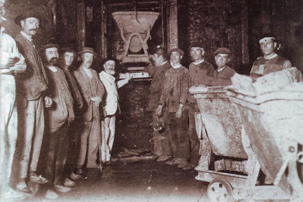 5 Mineros embarque pozo