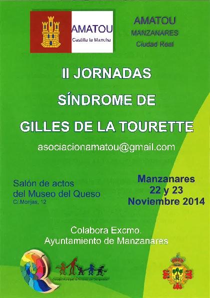 AMATOU celebra las II Jornadas sobre el Síndrome de Gilles de la Tourette en Manzanares