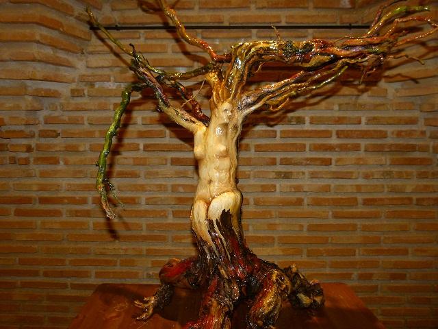 Las cepas se convierten en arte en Manzanares