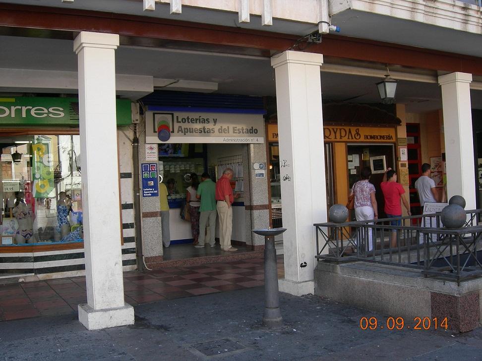 Premio de la lotería primitiva en Ciudad Real