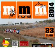 Itinerario y cortes de calles de la Media Maratón Rural Villa Miguelturra 2014