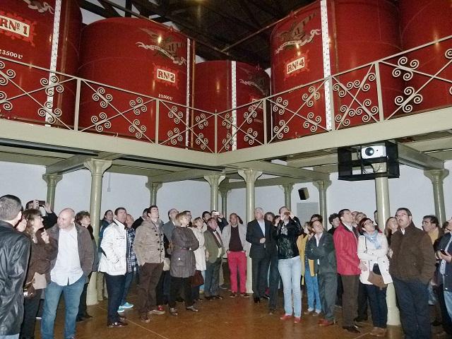 """""""Alma del Vino"""" permite redescubrir la """"bodega del águila"""" en el Museo de Pernod Ricard de Manzanares"""