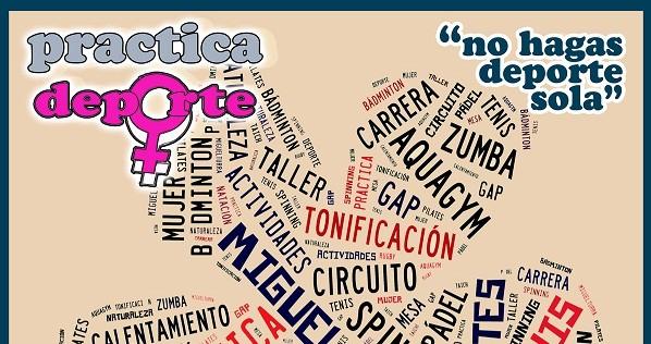 La Concejalía de Deportes de Miguelturra desarrollará una actividad deportiva para mujeres el 8 de noviembre