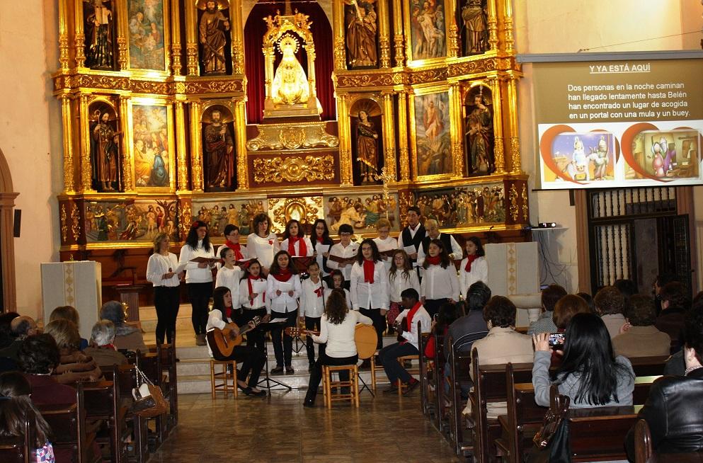 Los coros parroquiales se unieron en el V Festival de Villancicos de La Solana