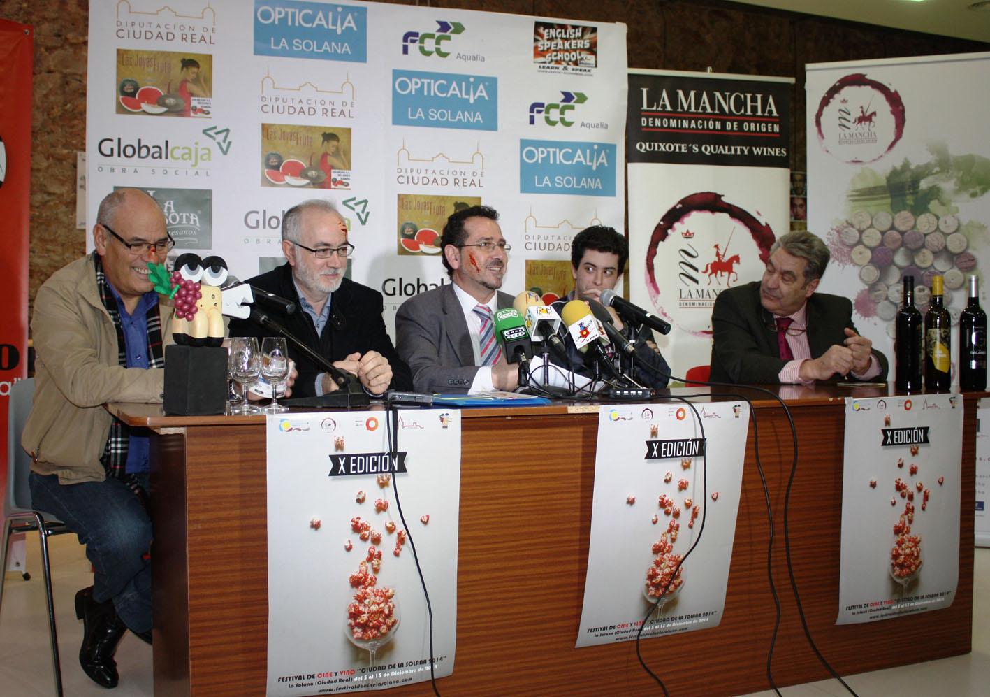 """Arranca la décima edición del Festival de Cine y Vino """"Ciudad de La Solana"""""""