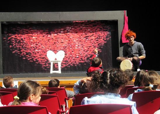 Torralba de Calatrava busca a los espectadores del futuro con el 'Programa Educativo a la Carta Patio de Comedias'