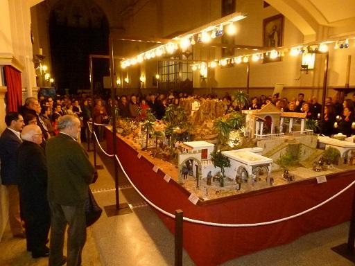 El Belén de la Parroquia de la Asunción, un extraordinario recorrido por la tierra de Jesús