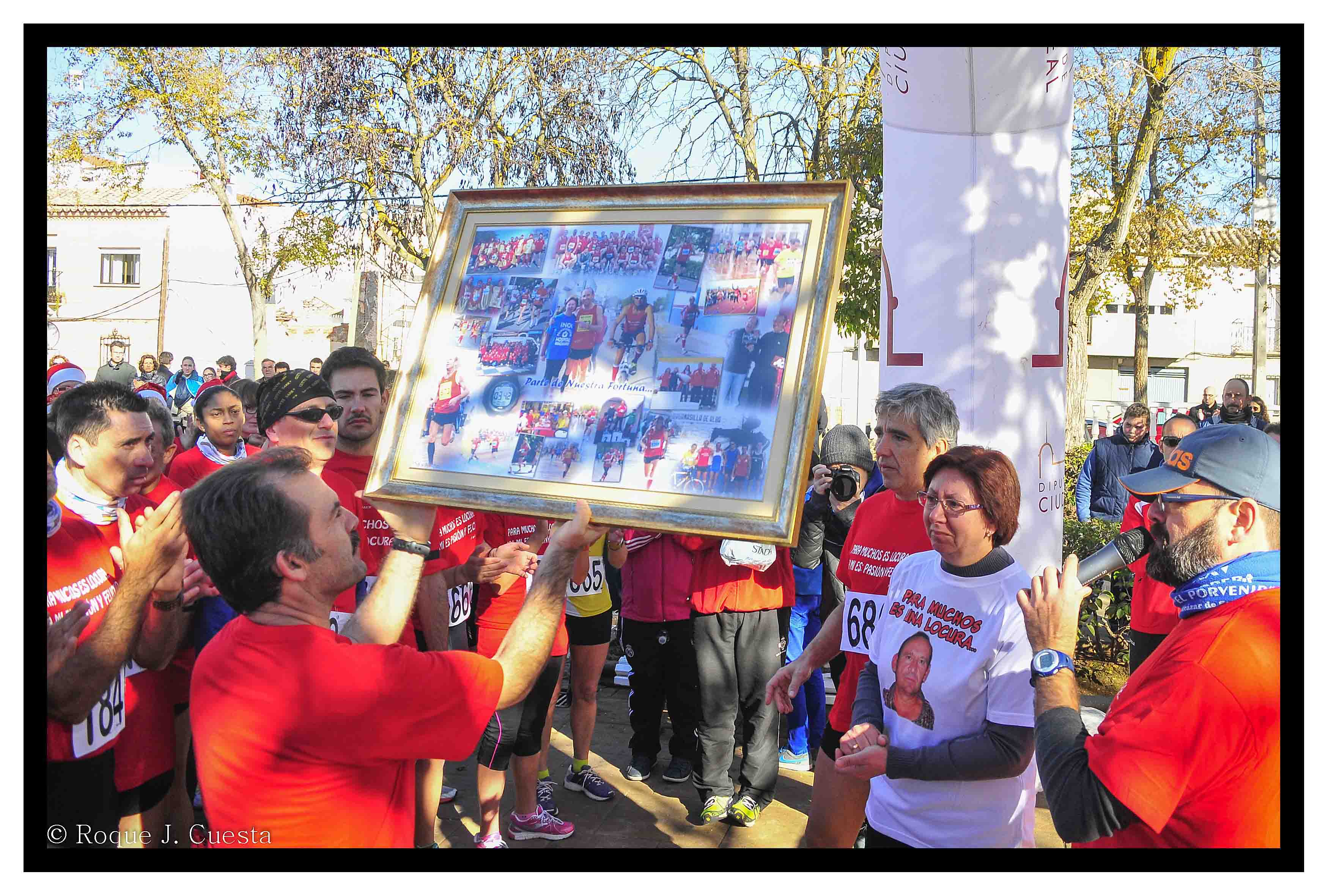 El desaparecido Paco Desdentado gana la Carrera de Navidad