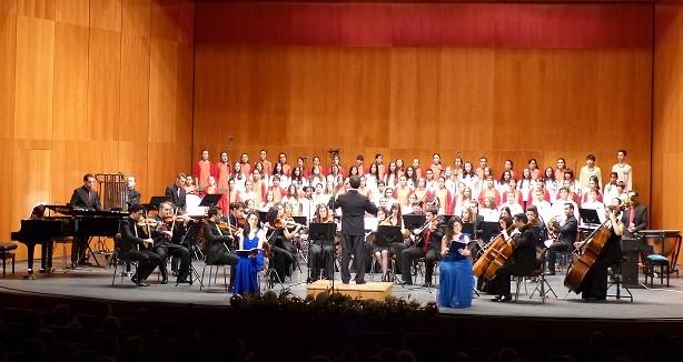 """""""El Magnificat"""" de Josu Elberdin llena el Gran Teatro de Manzanares"""