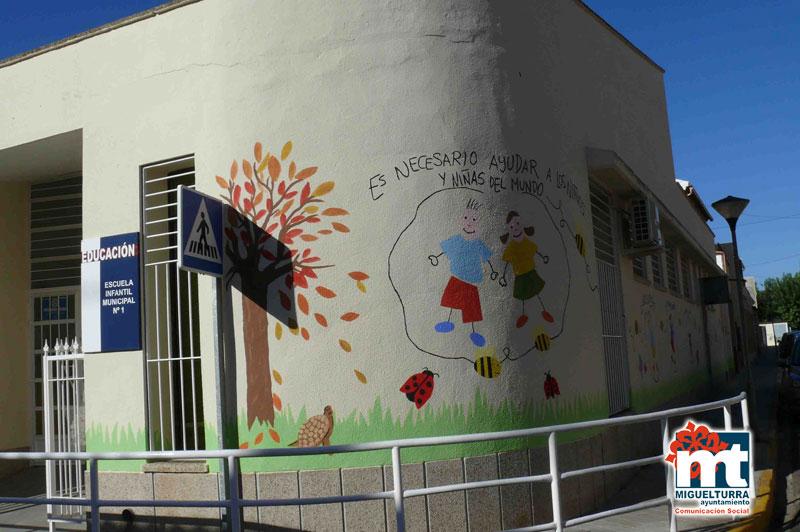Mercadillo Solidario en la Escuela Infantil Municipal «Pelines» de Miguelturra