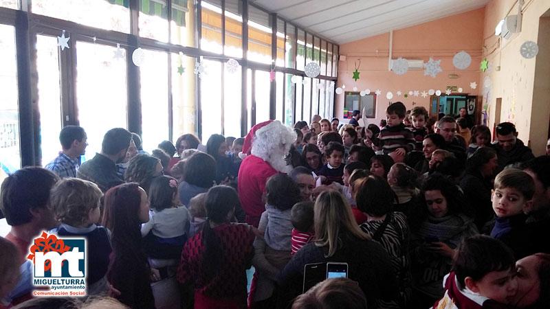 Gran Fiesta de Navidad en la Escuela Infantil Municipal «Pelines» de Miguelturra