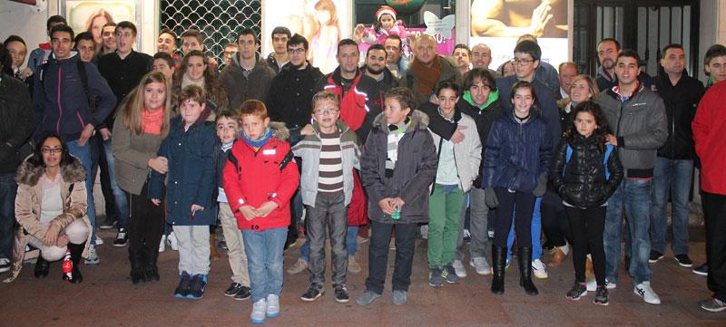 La Escuela de Baloncesto de Miguelturra disfrutó por todo lo alto en el partido Estudiantes – Barcelona