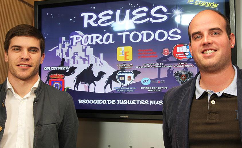 """El Ayuntamiento de Ciudad Real presenta por tercer año consecutivo la campaña solidaria """"Reyes para todos"""""""
