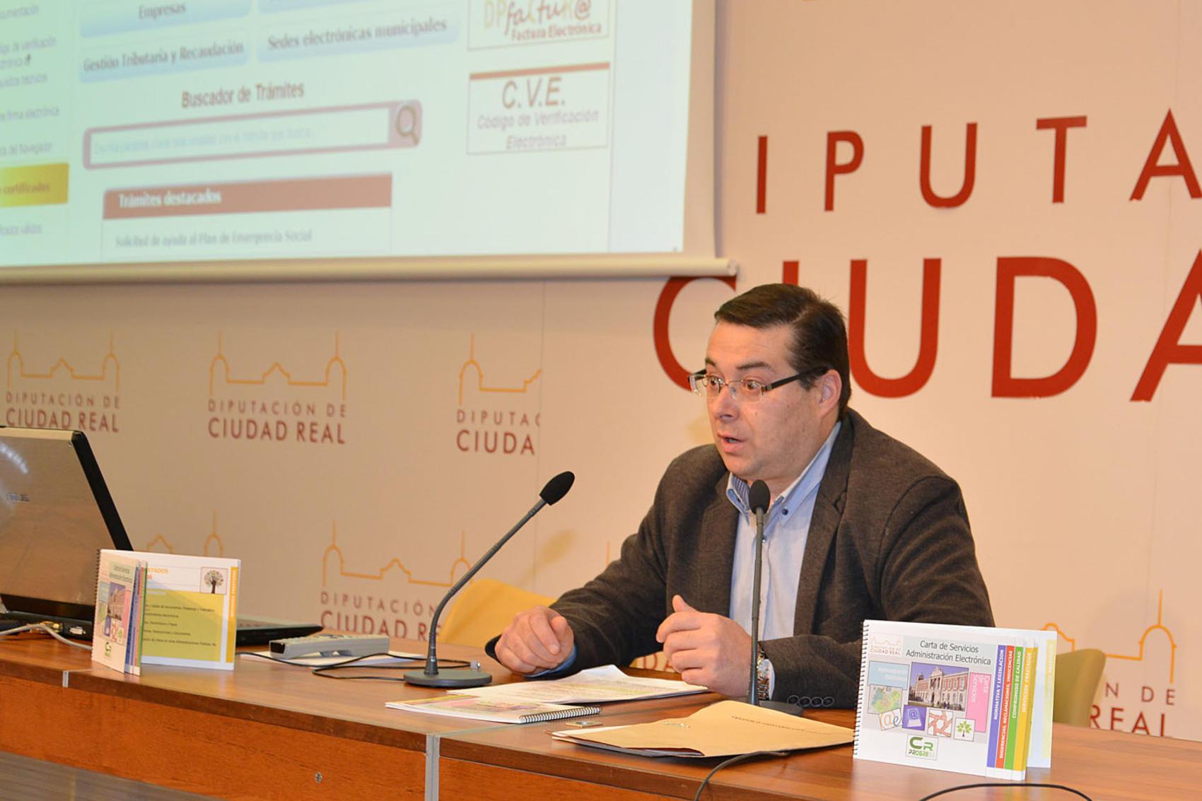 La Diputación de Ciudad Real garantiza la implantación de la administración electrónica en toda la provincia
