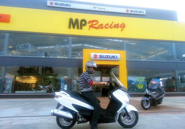 Suzuki da un paso más en su exitoso Burgman