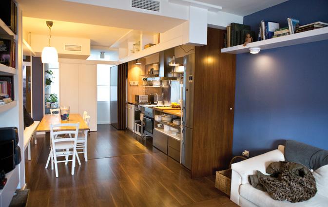 Una cocina integrada